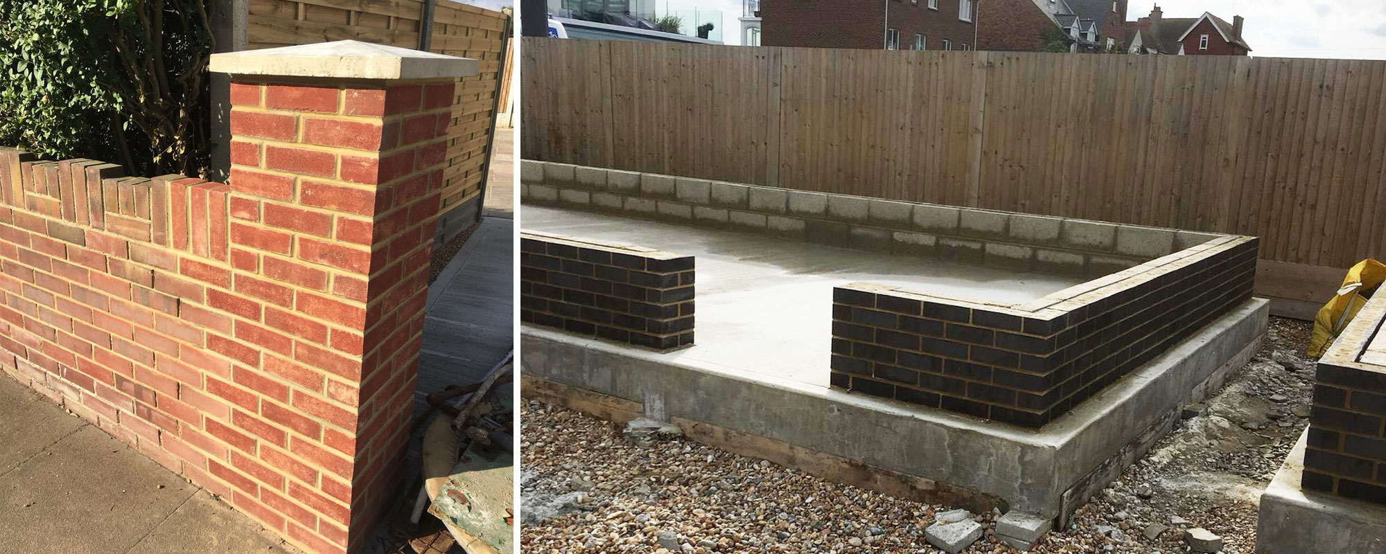 Brickwork Services - Our NVQ Qualified team are experts in laying brickwork installations
