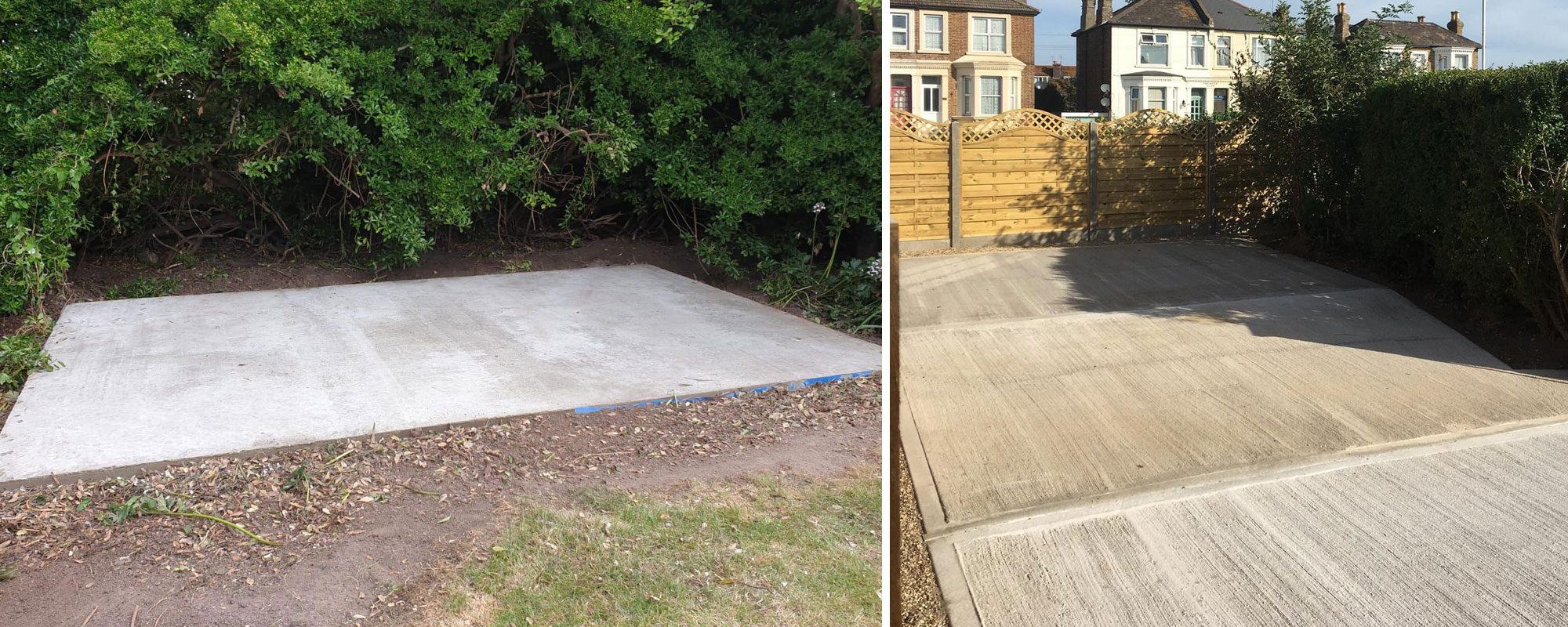 Concrete Base - Quality bases for your shed or extension