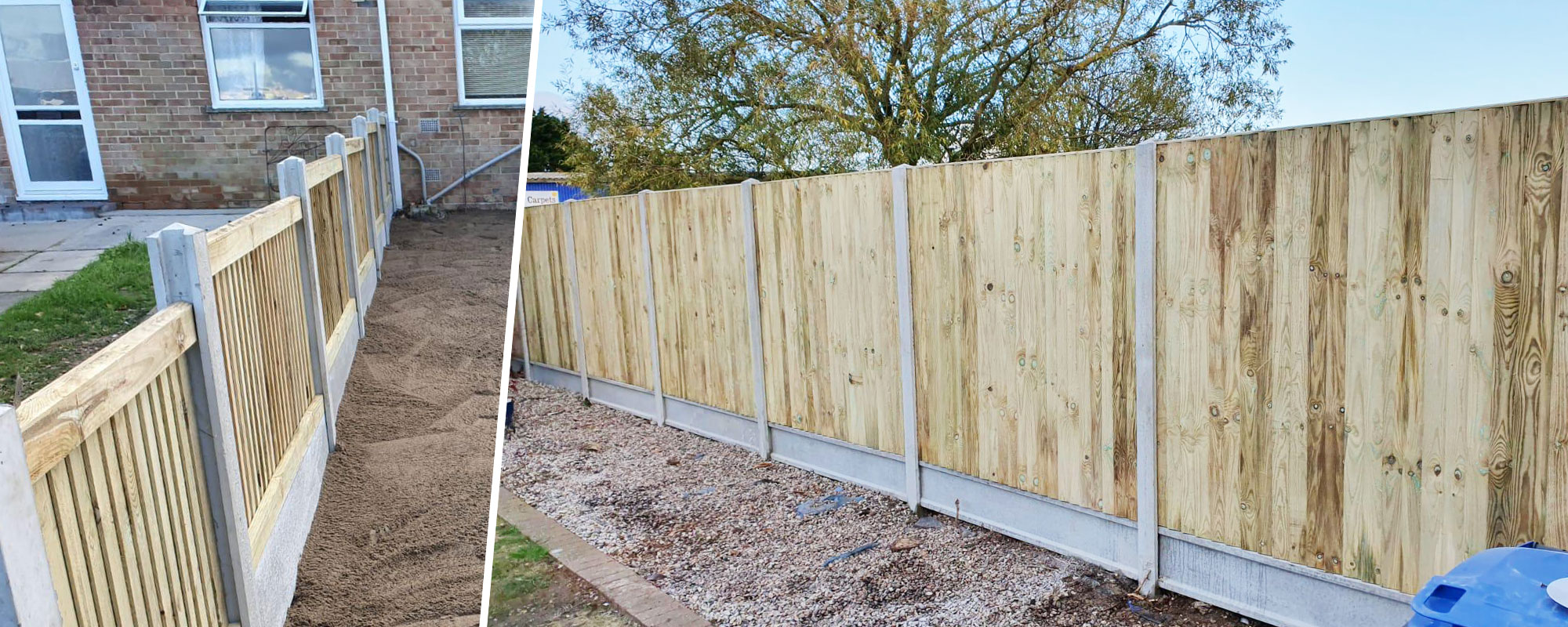 Fencing Services - Fencing which looks great and lasts for many years